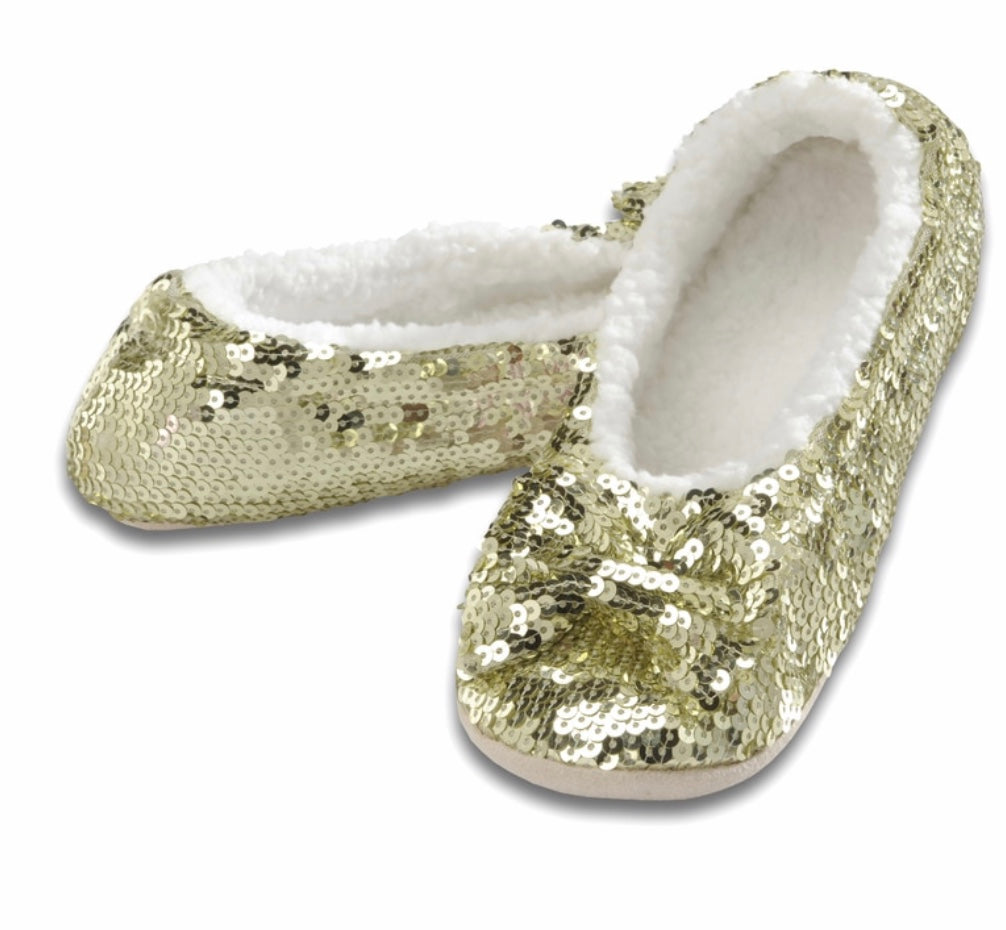 Classic Gold women's Snoozie house shoes