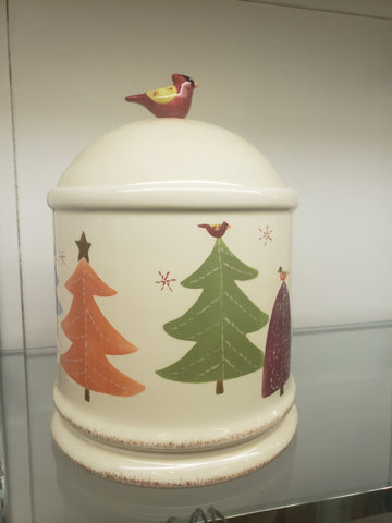 Home tree crock with lid