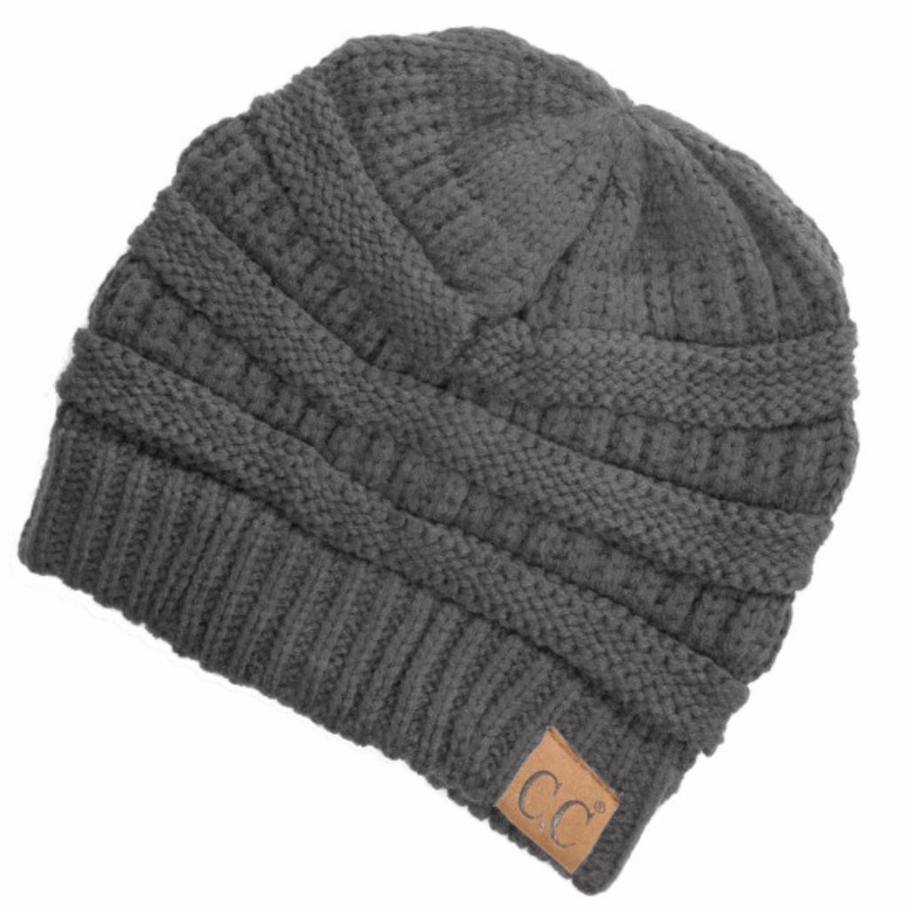 Dark gray CC beanie original