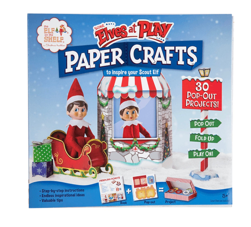 Scout Elf's at Play craft book
