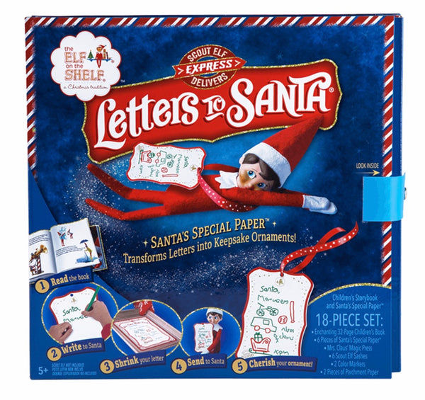 Elf on the shelf letters to Santa kit