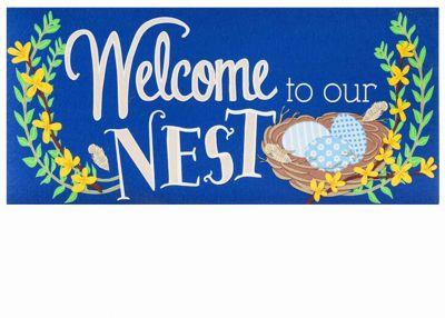 Welcome to Our Nest Switch mat