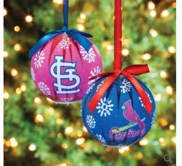 St louis Cardinals LED ornament bulbs set