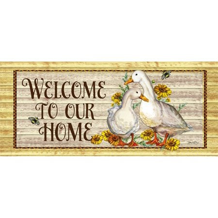 Welcome to Our home duck switch mat