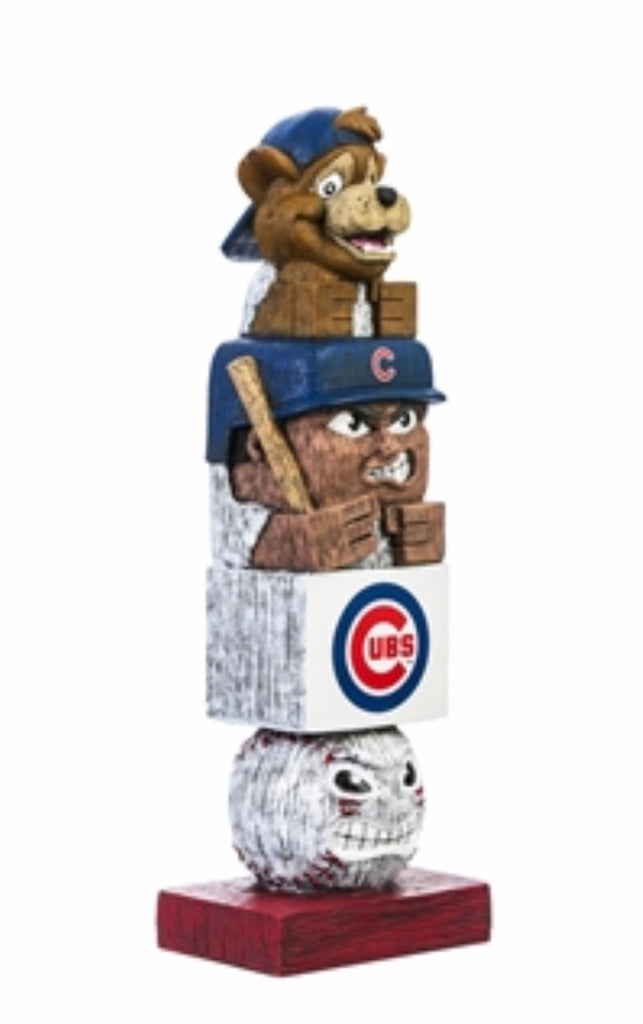 Chicago cubs totem Garden Statue