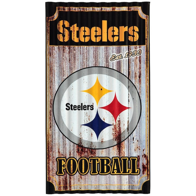 Pittsburg Steelers Metal Wall Art