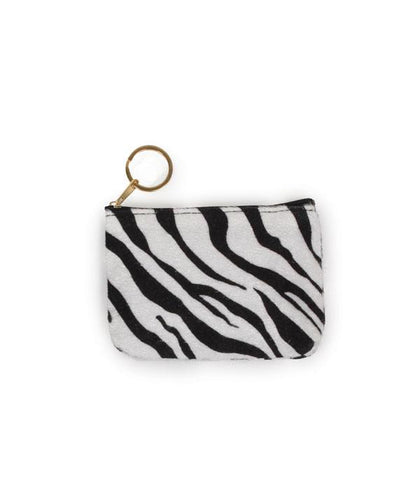 Animal Print Coin Card Pouch