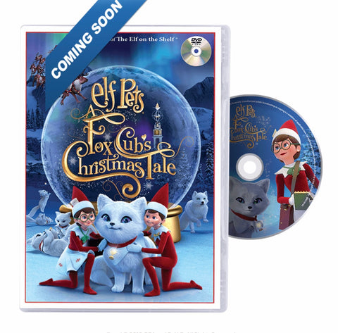 Elf pets a fox cubs Christmas tale dvd