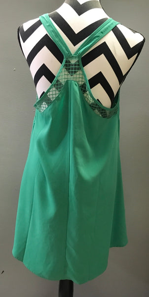 Emerald Green racer back sundress