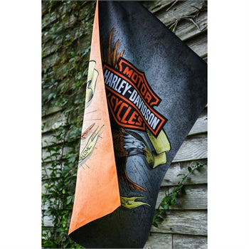 H-D Legendary Eagle House flag