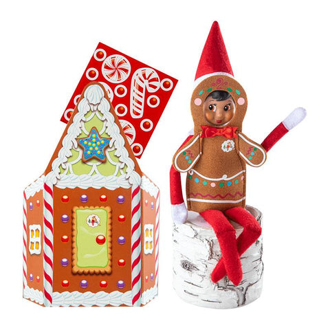 Elf CLAUS COUTURE COLLECTION® JOLLY GINGERBREAD ACTIVITY SET