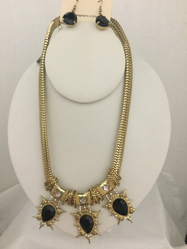 Black designer like Necklace set