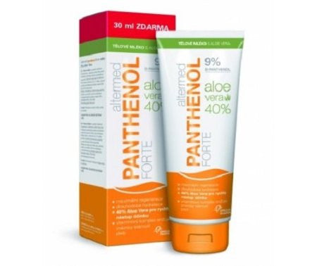 ALTERMED PANTHENOL FORTE 9% BODY LOTION WITH ALOE VERA