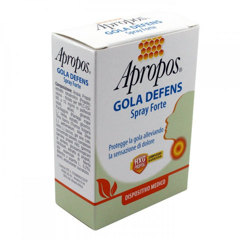 APROPOS GOLA DEFENS THROAT SPRAY
