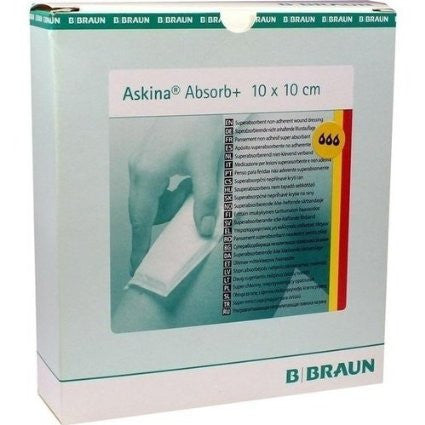 B.BRAUN ASKINA ABSORB PLUS WOUND DRESSING