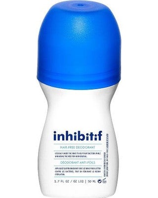 INHIBITIF HAIR-FREE DEODORANT WITH LIME AND MINT