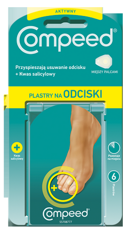 COMPEED ACTIVE CORN PATCH FOR TOES