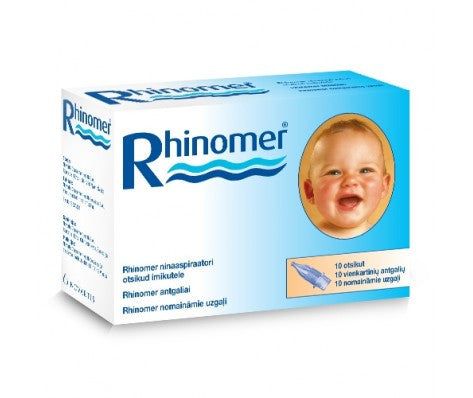 RHINOMER NOSE CLEANER NOZZELS FOR INFANTS