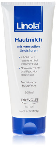 DR. WOLFF LINOLA DAILY LOTION FOR DRY AND STRESSED SKIN
