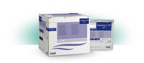 ANSELL GAMMEX XP POWDER-FREE STERILE LATEX GLOVES