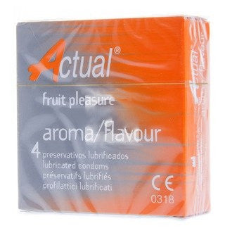 ACTUAL FRUIT PLEASURE AROMA/FLAVOUR CONDOMS