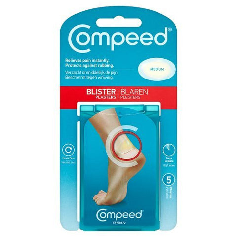 COMPEED BLISTER PLASTERS MEDIUM WHITE PLASTERS