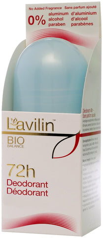 LAVILIN BIO BALANCE 72 HOUR PROTECTION NATURAL ROLL-ON DEODORANT