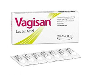 DR. WOLFF VAGISAN LACID ACID SUPPOSITORY