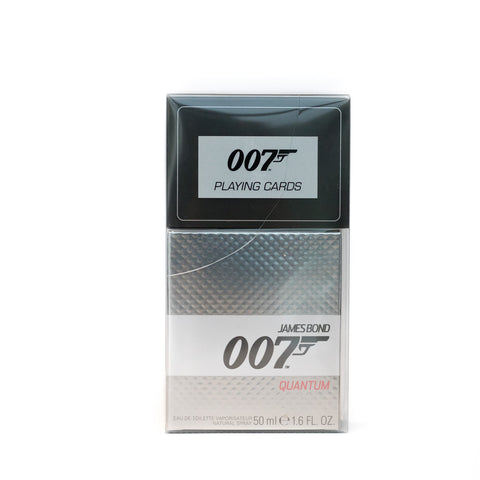 JAMES BOND 007 QUANTUM GIFT SET EDT 50 ML WITH DAMAGED BOX