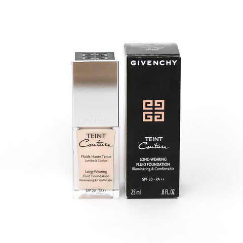 GIVENCHY TEINT COUTURE LONG-WEARING FLUID FOUNDATION 3 ELEGANT SAND WITH DAMAGED BOX