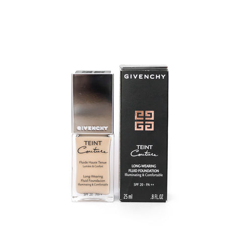 GIVENCHY TEINT COUTURE LONG-WEARING FLUID FOUNDATION 5 ELEGANT HONEY WITH DAMAGED BOX