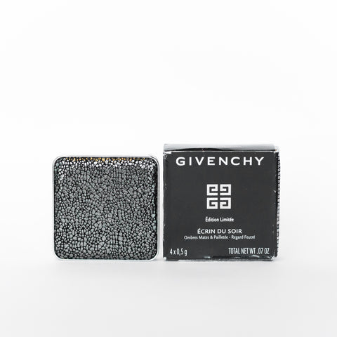 GIVENCHY ECRIN DU SOIR MAT AND SEQUINED EYESHADOW WITH A DAMAGED BOX