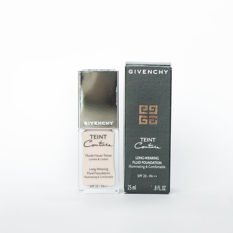 GIVENCHY TEINT COUTURE LONG-WEARING FLUID FOUNDATION 2 ELEGANT SHELL WITH DAMAGED BOX