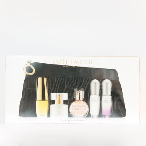 ESTEE LAUDER COLLECTION SET WITH DAMAGED BOX