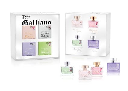 JOHN GALLIANO SPECIAL COLLECTION MINIATURE GIFT SET 4*10 ML