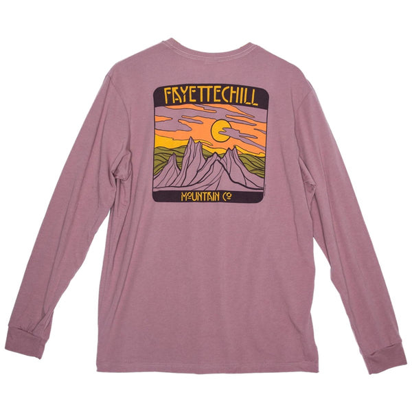 Fayettechill Long Sleeve T-Shirt - Bryn Mountains Graphic
