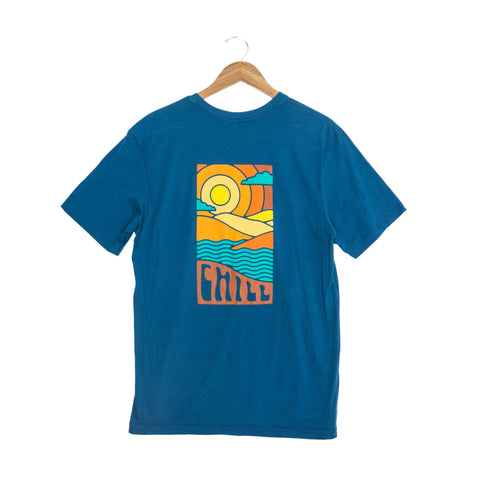 Fayettechill Eventide Glass Blue Tee