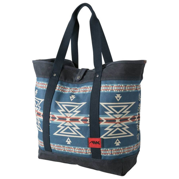 mountain khakis mosaic tote navy