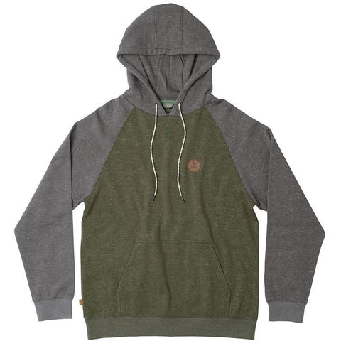hippy tree boulder hoody heather army