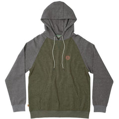 Hippy Tree Boulder Hoody - Heather Army