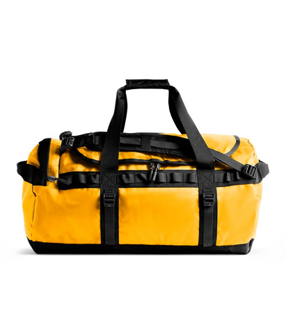 The North Face Medium Base Camp Duffel Summit Gold & Black