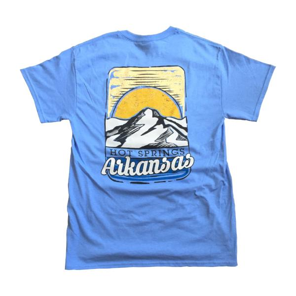hot springs arkansas mountain t-shirt