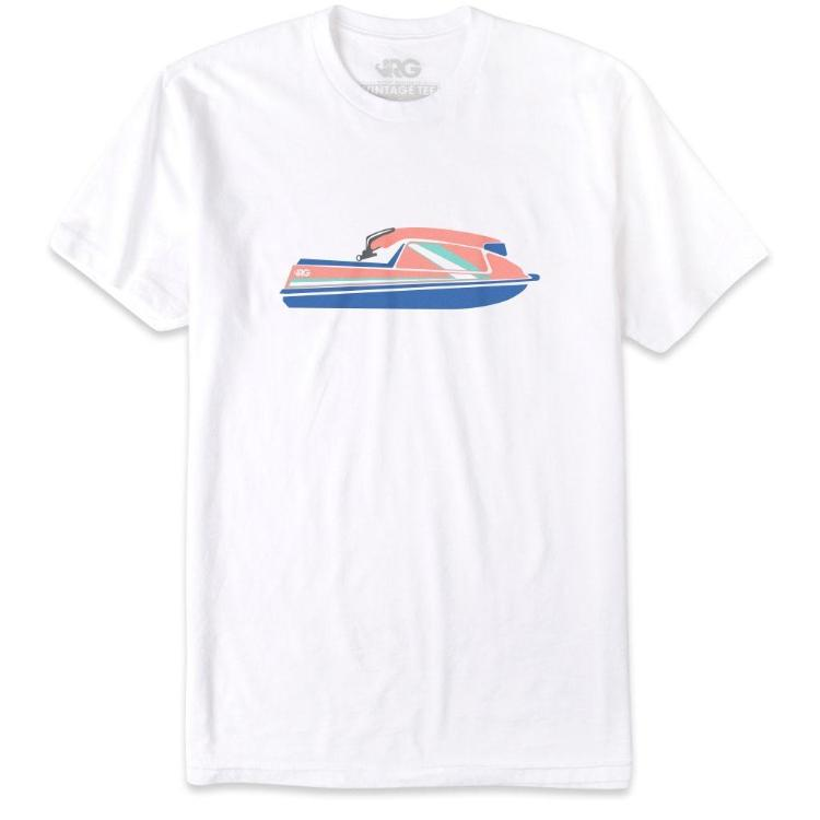 rowdy gentleman boatercycle tshirt