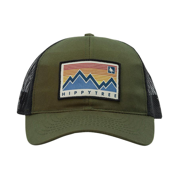 Hippy Tree Spectrum Hat Military