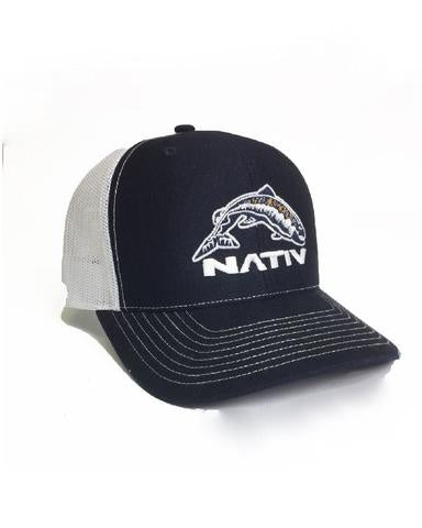 Nativ Trucker Hat tightlines navy