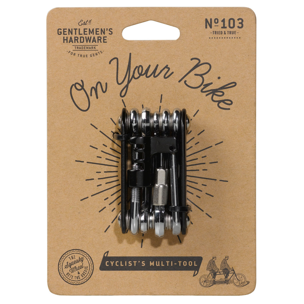 cyclist's multi-tool gentleman's hardware
