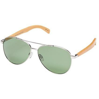 blue planet sunglasses amador wood green