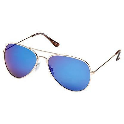 Wright Gold Blue Mirror Polarized