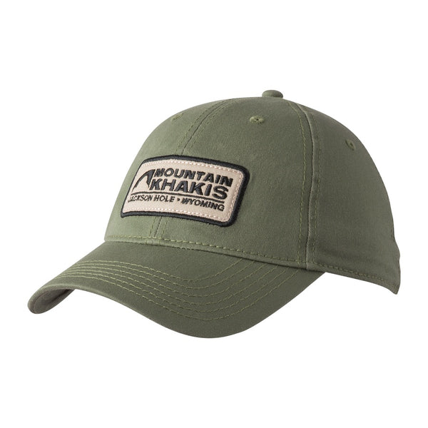 mountain khakis soul patch cap olive