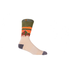 Pinnacle Mountain Socks - Tan/Olive